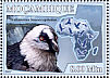 Bearded Vulture Gypaetus barbatus  2007 Birds of prey Sheet