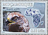 Rough-legged Buzzard Buteo lagopus  2007 Birds of prey Sheet