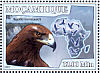 Tawny Eagle Aquila rapax  2007 Birds of prey Sheet