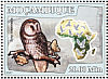 Ural Owl Strix uralensis  2007 Owls Sheet