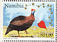 Helmeted Guineafowl Numida meleagris  1997 Greetings stamp 5v booklet