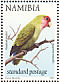 Rosy-faced Lovebird Agapornis roseicollis  1997 Flora and fauna Booklet