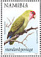 Rosy-faced Lovebird Agapornis roseicollis  1998 Flora and fauna 18v booklet