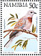 Laughing Dove Spilopelia senegalensis  1998 Flora and fauna 18v booklet