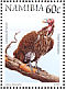 Lappet-faced Vulture Torgos tracheliotos  1998 Flora and fauna 18v booklet