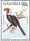 Southern Yellow-billed Hornbill Tockus leucomelas  1998 Flora and fauna 18v booklet