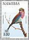 Lilac-breasted Roller Coracias caudatus  1998 Flora and fauna 18v booklet