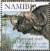Yellow-billed Oxpecker Buphagus africanus  2007 SAPOA 5v sheet