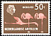 American Flamingo Phoenicopterus ruber  1958 Definitives