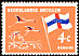 American Flamingo Phoenicopterus ruber  1965 Definitives