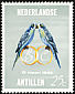 Budgerigar Melopsittacus undulatus  1966 Marriage of Crown Princess Beatrix
