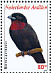 Purple-throated Fruitcrow Querula purpurata  2009 Birds Sheet