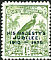 Raggiana Bird-of-paradise Paradisaea raggiana  1935 Overprint HIS MAJESTYS... on 1932.01