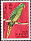 Palm Lorikeet Charmosyna palmarum  1972 English definitives