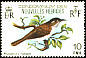 White-bellied Honeyeater Glycifohia notabilis  1980 Birds, French issue