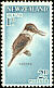 Sacred Kingfisher Todiramphus sanctus  1960 Health stamps