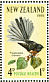 New Zealand Fantail Rhipidura fuliginosa  1965 Health stamps 2 sheets