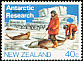 Adelie Penguin Pygoscelis adeliae  1984 Antarctic research 4v set