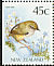 New Zealand Rockwren Xenicus gilviventris  1991 Native birds Booklet