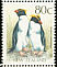 Fiordland Penguin Eudyptes pachyrhynchus  1992 Native birds Booklet, 5 stamps