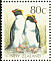 Fiordland Penguin Eudyptes pachyrhynchus  1992 Native birds Booklet with barcode, 10 stamps