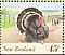 Wild Turkey Meleagris gallopavo  1995 Farmyard animals 10v booklet, p 14x14�