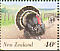 Wild Turkey Meleagris gallopavo  1995 Farmyard animals 10v booklet