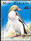 Yellow-eyed Penguin Megadyptes antipodes  1996 Marine wildlife 6v sheet