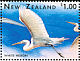 Great Egret Ardea alba  1996 Marine wildlife 6v sheet