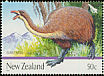New Zealand Giant Moa Dinornis giganteus  2009 Giants of New Zealand 5v set