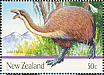 New Zealand Giant Moa Dinornis giganteus  2009 Giants of New Zealand 5v sheet