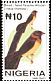 Sahel Paradise Whydah Vidua orientalis  2001 Definitives 8v set