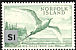 Red-tailed Tropicbird Phaethon rubricauda  1966 Surcharge on 1961.01-2