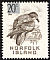 Providence Petrel Pterodroma solandri  1966 Surcharge, different, on 1961.01-2