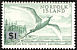Red-tailed Tropicbird Phaethon rubricauda  1966 Surcharge, different, on 1961.01-2