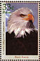 Bald Eagle Haliaeetus leucocephalus  2000 New and recovering species 6v sheet