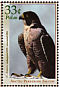 Peregrine Falcon Falco peregrinus  2000 New and recovering species 6v sheet