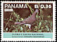 Pale-vented Pigeon Patagioenas cayennensis  1987 Flowers and birds 8v set