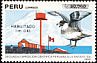 Pomarine Jaeger Stercorarius pomarinus  1991 2nd Peruvian scientific expedition to Antarctica 3v set