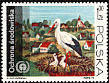 White Stork Ciconia ciconia  1973 Protection of the environment 8v set