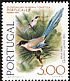 Iberian Magpie Cyanopica cooki  1976 Portucale 77 4v set