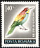 European Bee-eater Merops apiaster  1973 Protection of nature 6v set