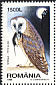 Western Barn Owl Tyto alba  1998 Night birds Booklet