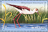 Black-winged Stilt Himantopus himantopus  2009 Birds of the Danube Delta Sheet