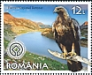 Golden Eagle Aquila chrysaetos  2019 Romania, a European treasure 6v set