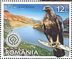 Golden Eagle Aquila chrysaetos  2019 Romania, a European treasure 6v sheet