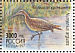 Eurasian Curlew Numenius arquata  1997 Wild animals of Russia 5v sheet