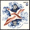 Long-tailed Duck Clangula hyemalis  1975 International exposition, Okinawa 6v set