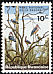Marabou Stork Leptoptilos crumenifer  1965 The national park at the Kagera river 10v set