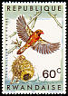 Red-billed Quelea Quelea quelea  1967 Birds of Rwanda